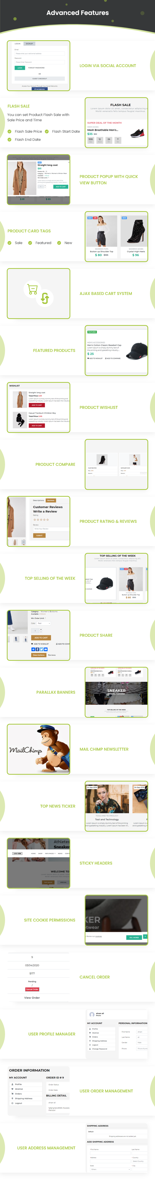 Ecommerce Solution with Delivery App For Grocery, Food, Pharmacy, Any Store / Laravel + Android Apps - 32