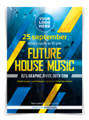 Future House Music Flyer - 148