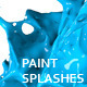 Variety of Isolated 3D Paint Splashes 1 - 1