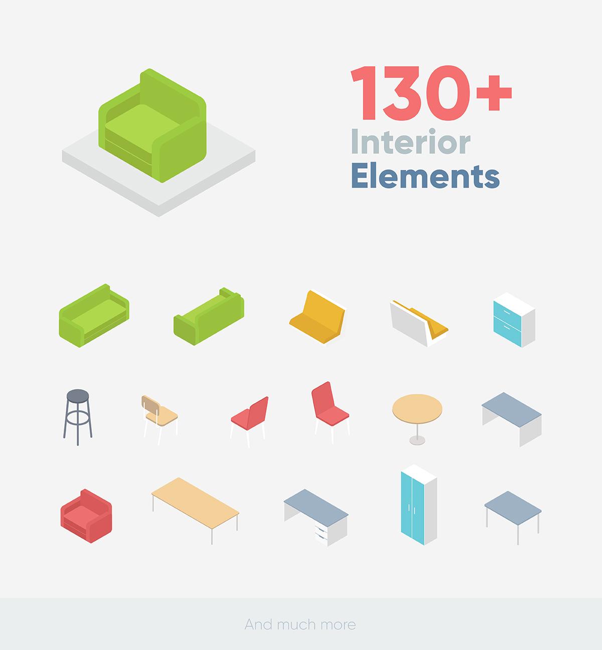 Isopix - Isometric Explainer Pack - 17