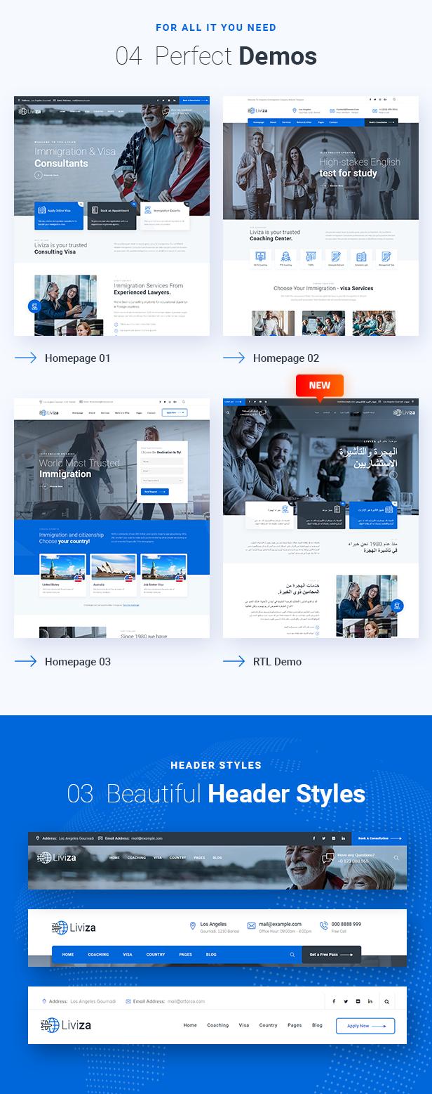 Liviza WordPress Theme