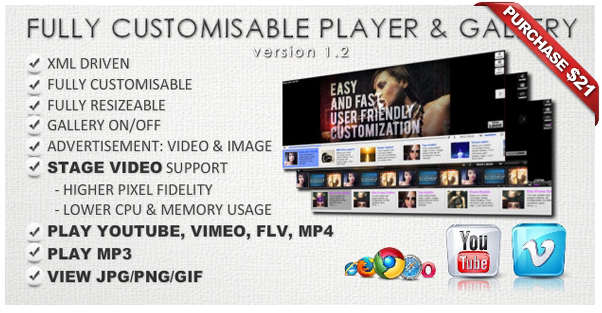 Ultimate Video Player with YouTube, Vimeo, HTML5, Ads - 14