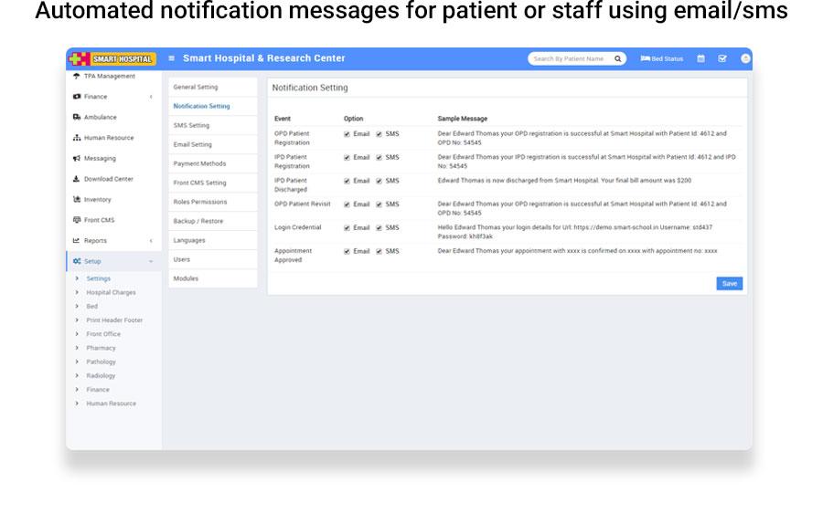 Smart Hospital : Hospital Management System - 25