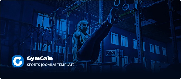 Sports Joomla Template GymGain