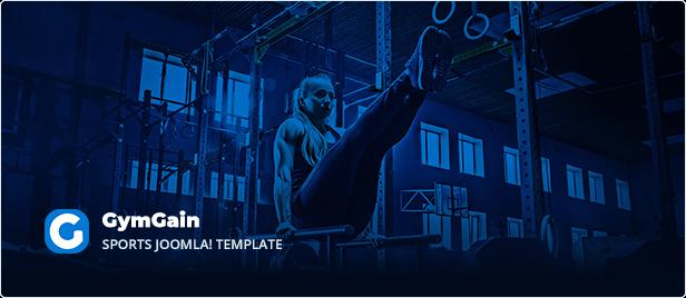 Sports Joomla Template GymGain