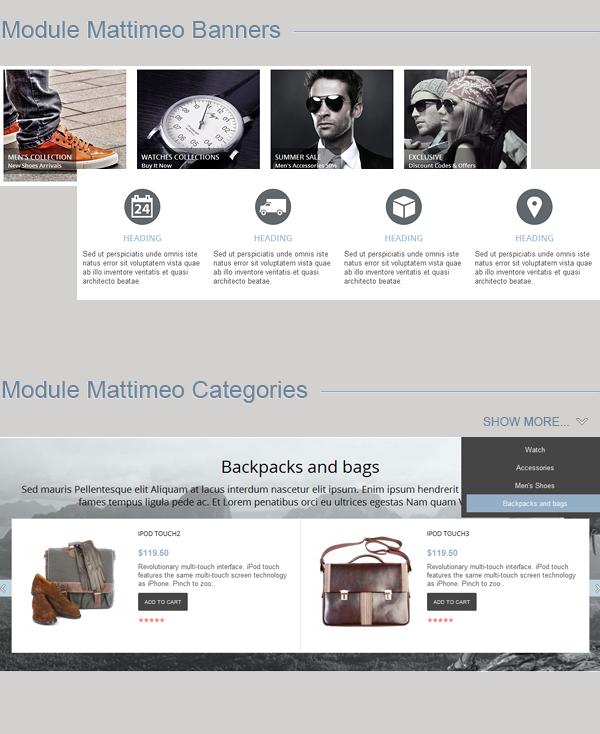 Mattimeo – Responsive OpenCart Theme - 3