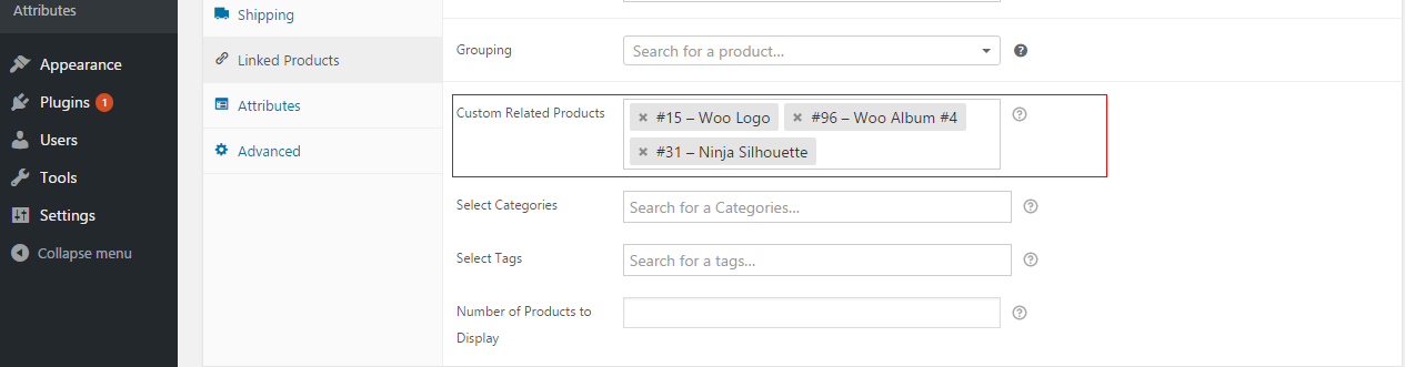 WooCommerce Custom Related Products Pro
