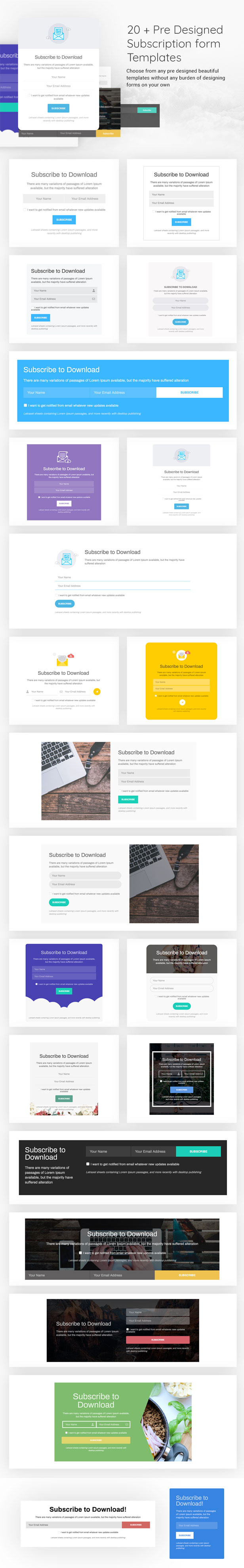 Subscribe to Download - An advanced subscription plugin for WordPress - 7