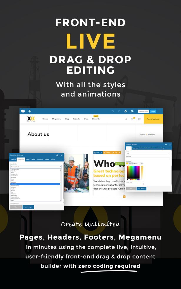 Samatex - Industrial WordPress Theme + Woocommerce - 3