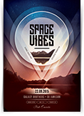 Space Vibes Flyer