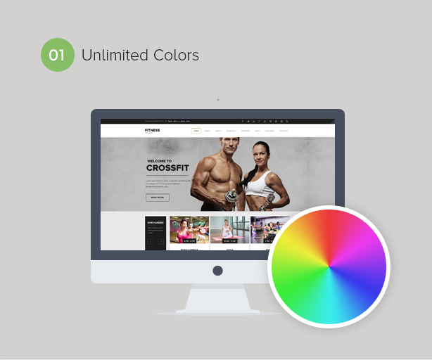 Gym WordPress Theme | Fitness - 2