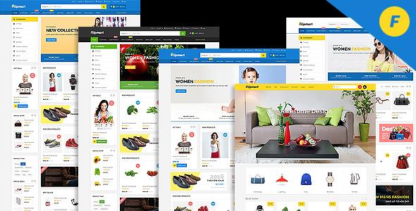 Flipmart - Responsive  Ecommerce Template - Shopping Retail
