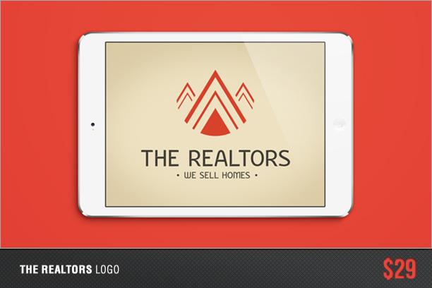 The Realtors Logo Banner