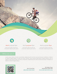 creative corporate flyer template