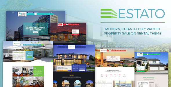 Estato - Single Property Sale & Rental Theme
