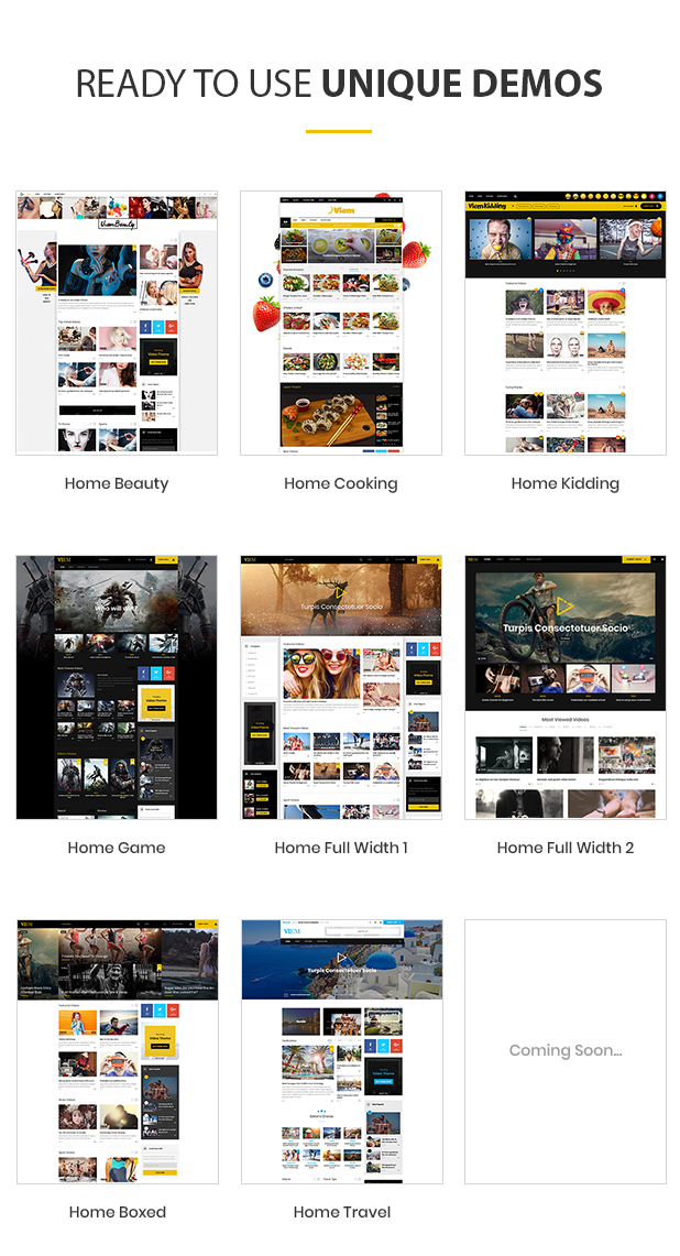 Viem - Video WordPress Theme by DawnThemes | ThemeForest