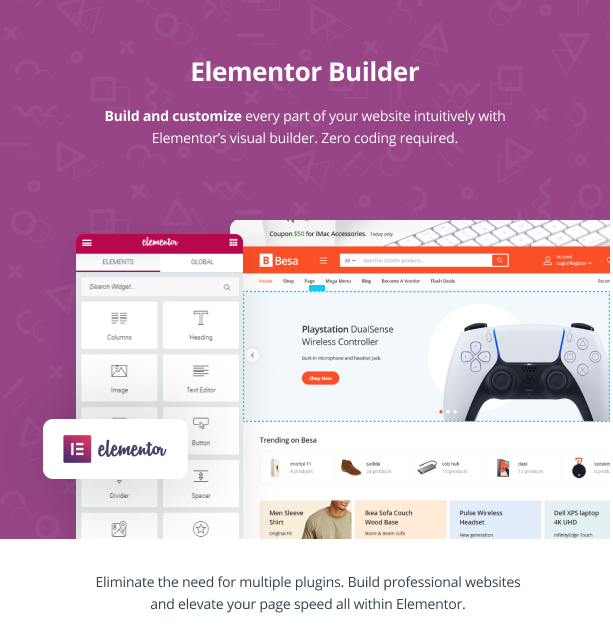 Besa - Elementor Marketplace WooCommerce Theme - 10