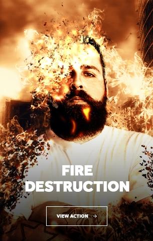 Iron Man Face Photoshop Action - 44