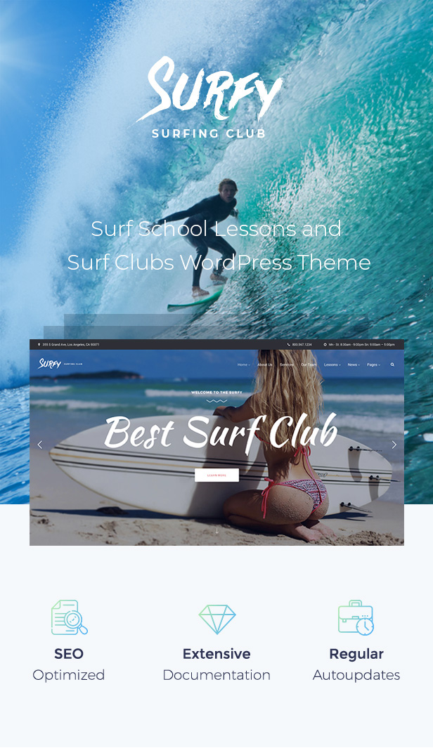 Surfy - Surfing and Water Sports - 1