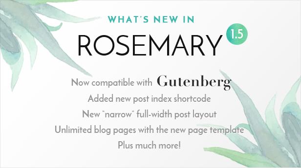 Rosemary 1.5