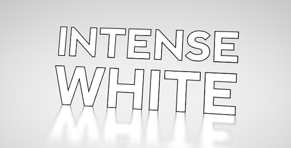 intense white