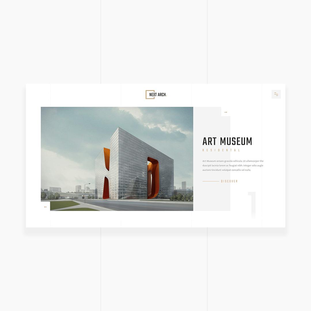 Next Arch. - Creative Responsive Architecture Template