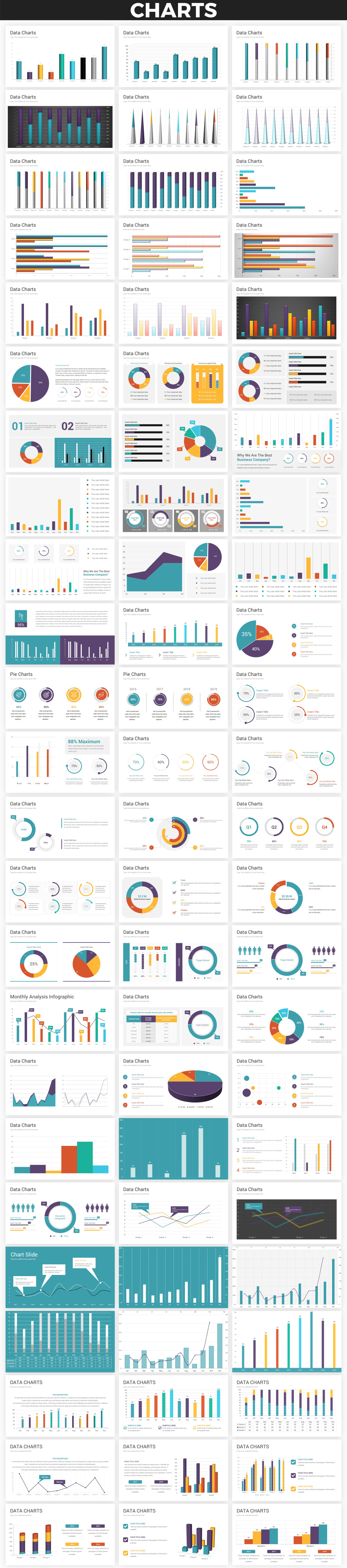 Infographics PowerPoint Bundle - 9