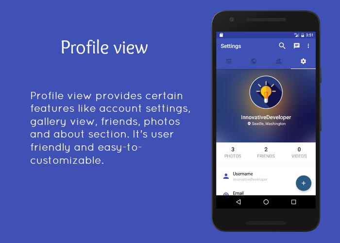 SocialApp - Full Android Application - 3