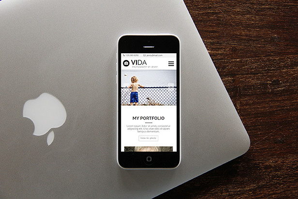 Vida - Multipurpose Muse Template - 14