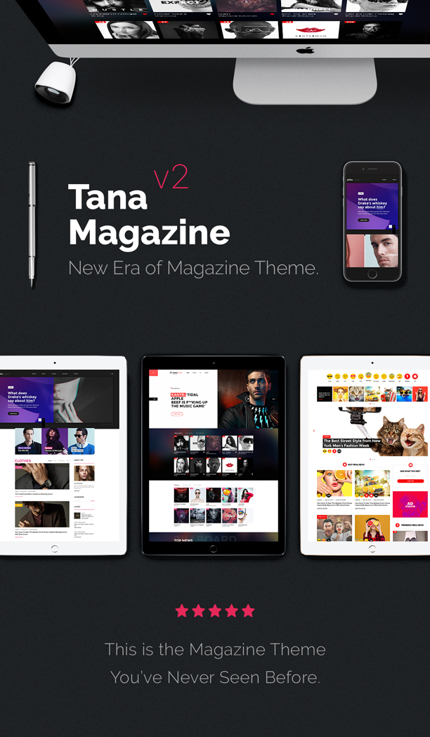 Tana Magazine Newspaper
