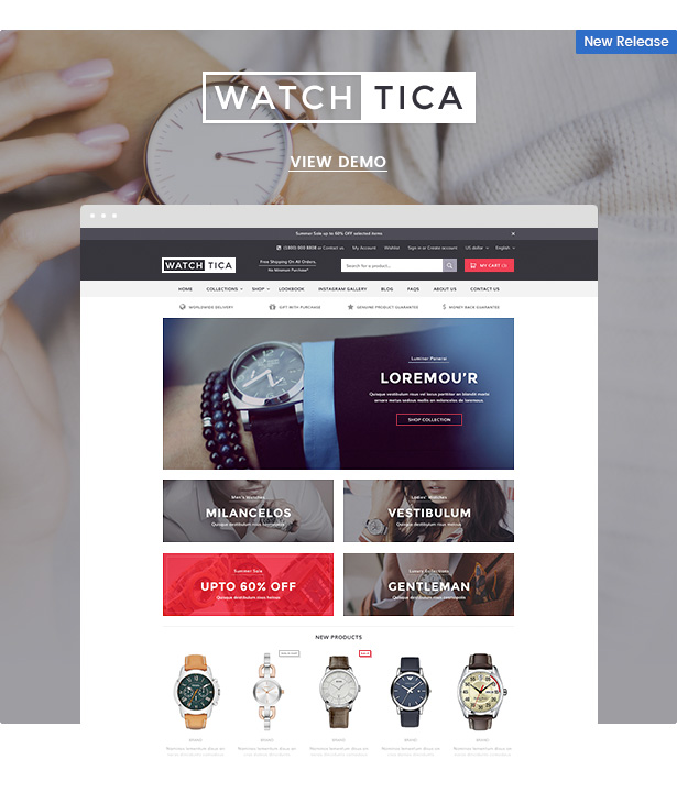Ella - Responsive Shopify Template (Sections Ready) - 2