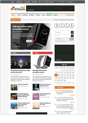 AlYoum   Retina Magazine and Blog WordPress Theme - 5