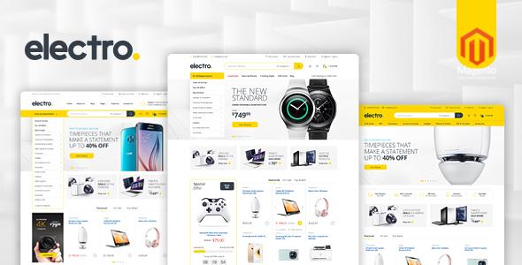 Electro - Responsive Magento 1 & 2 Theme - Magento eCommerce