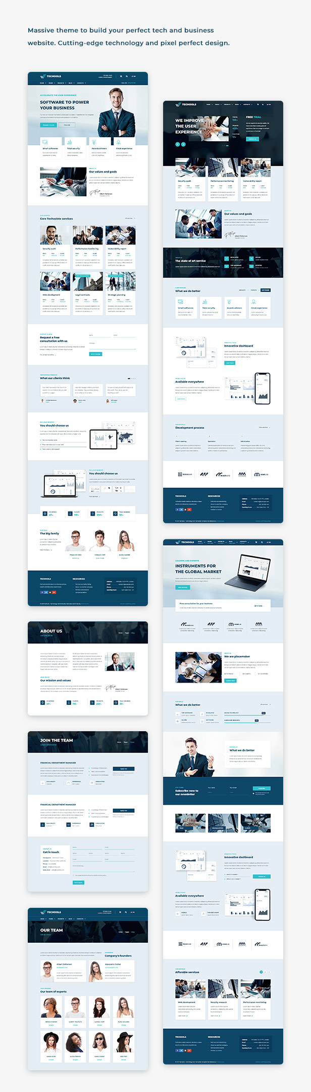 Execoore - Tech And Business Theme - 1
