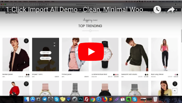 Clean, Minimal WooCommerce WordPress Theme