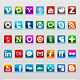 35 Modern Social Icons - GraphicRiver Item for Sale