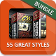 Cartoon and Comic Book Styles Bundle - 72