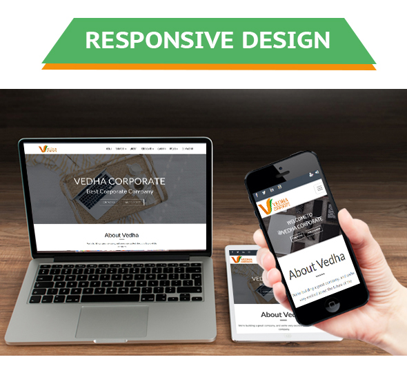 Vedha - Corporate HTML template - 1