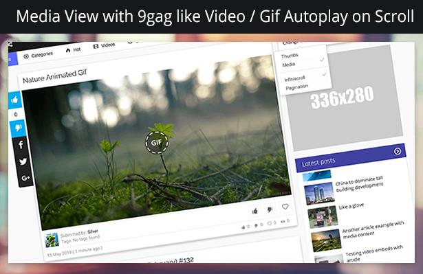 Avidi Media v3 - Premium Media Sharing Script (Photo, Video, Audio & Gifs) - 5