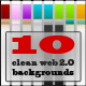 Glossy web 2.0 RSS button pack - 4