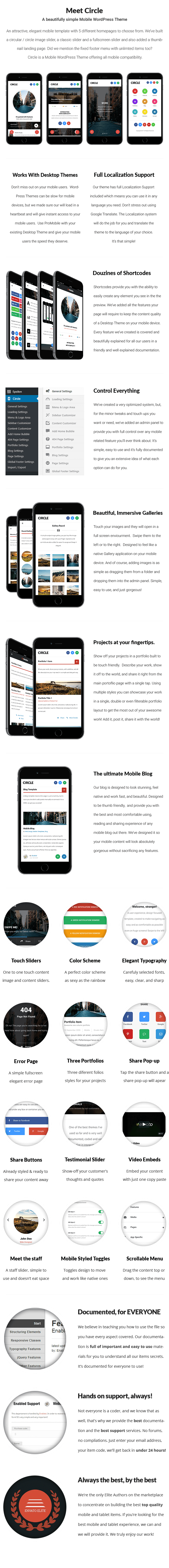 Circle Mobile | Mobile WordPress Theme - 9