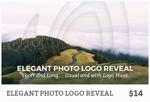Elegant Photo Logo Reveal
