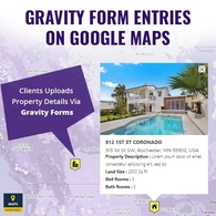 Gravity Form Data On Google Maps