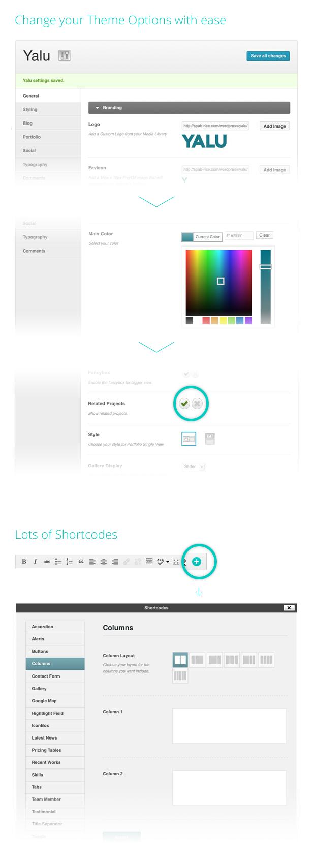 Yalu - Creative Multipurpose Template - Wordpress - 7