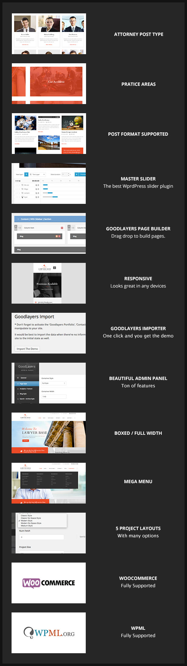 Lawyer Base - Lawyers Attorneys WordPress Theme - 1