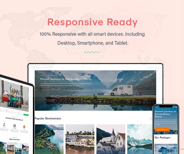 Valley - Tour & Travel Agency WordPress Theme - 5