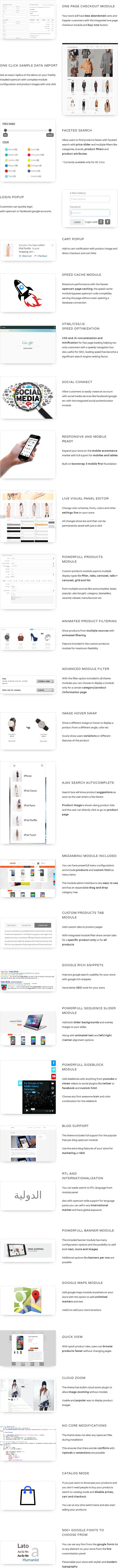 Sapphire - Bootstrap 3 Opencart Theme - 1
