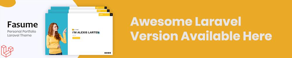 Alexio – Bootstrap 4 Personal Portfolio - 1