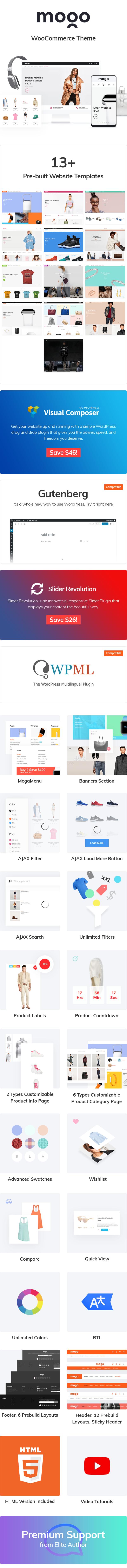 Mogo - Fastest Fashion WooCommerce WordPress Theme - 5