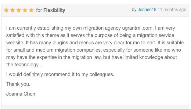 uReach   Immigration Consulting WordPress Theme - 3